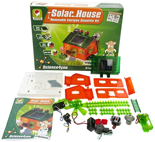 American Educational Products SFY-91635 Solar House, Renewable Energies Science Kit