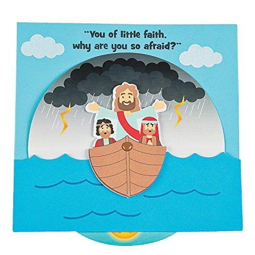 Jesus Calms The Storm Wheel Craft Kit -