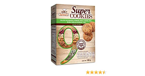 Amazon.com: Taifelds Super Cookies with 9 Super Foods: Amaranth, Cranberry, Oats, Almond, Walnut, Quinoa, Sunfloweer, Chia and Honey bee:
