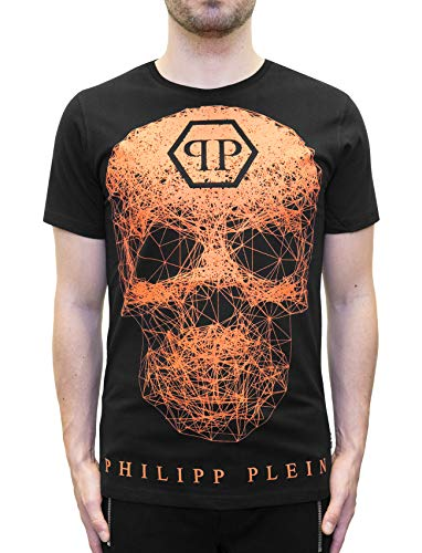 "6929a71a Buy Philipp Plein ""Weezer"" neon Skull t-Shirt (L) 