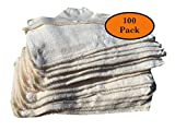 Snap On Hard Hat Sweatband Set Of 100, Hot Weather Head Sweat Accessories - Beige, by AcerPal