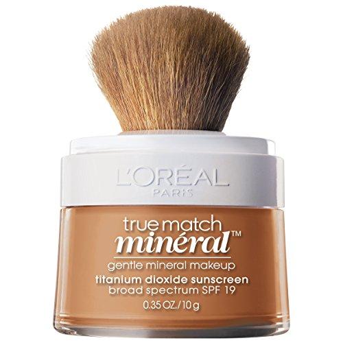 L'Oréal Paris True Match Loose Powder Mineral Foundation, Sun Beige, 0.35 -