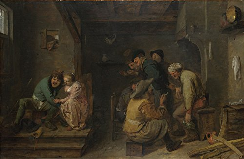 Costume Mice Diy 3 Blind (The Perfect Effect Canvas Of Oil Painting 'Adriaen Brouwer Tavern Scene ' ,size: 16 X 25 Inch / 41 X 62 Cm ,this Cheap But High Quality Art Decorative Art)