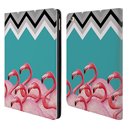 Official Mark Ashkenazi Chevron Flamingo Leather Book Wal...