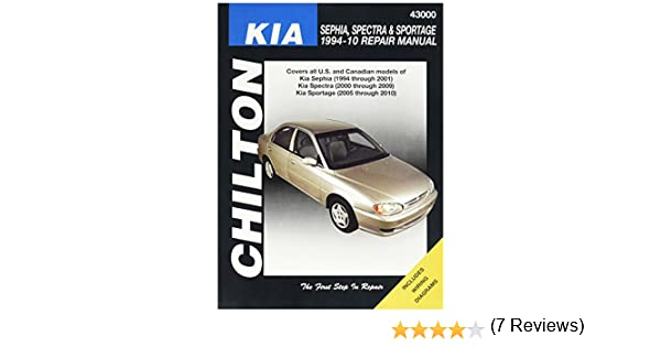 Amazon chilton kia repair manual automotive fandeluxe Images