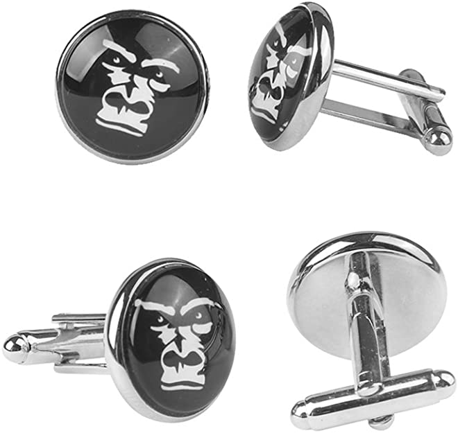 ZUNON Anatomical Heart Cufflinks Vintage Anatomy Cuff Link Set Great Gift for Cardiologist Graduation Gifts Accessories for Man Tie Clips
