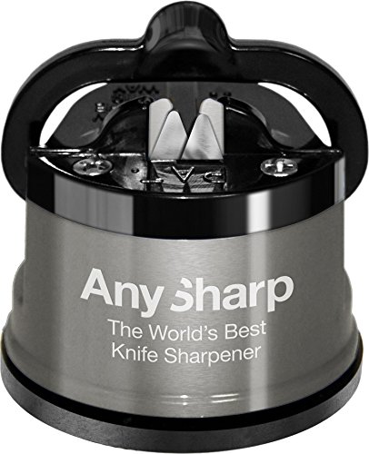 AnySharp Pro Knife Sharpener Metal