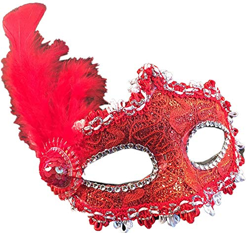 Venetian Sexly Masks Masquerade Ball for Women Halloween Mask Mardi Gras Mask Party -