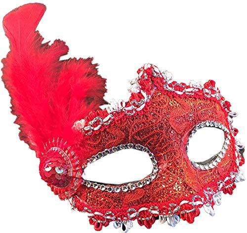 Blancho Bedding Venetian Sexly Masks Masquerade Ball for Women Halloween Mask Mardi Gras Mask Party Mask#650