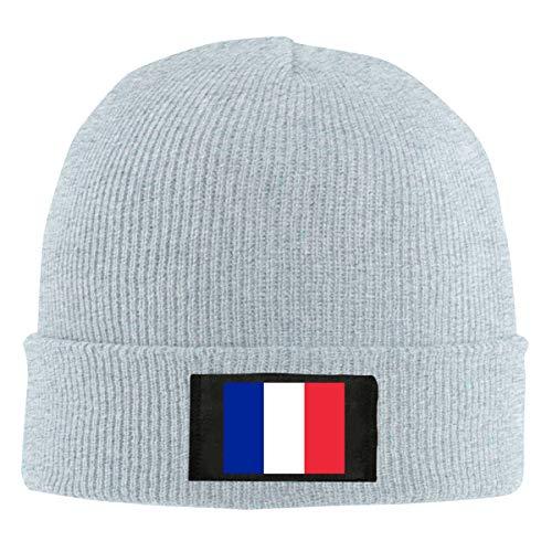ChunLei France Flag Unisex Warm Winter Wool Hat Knit Beanie Skull Cap