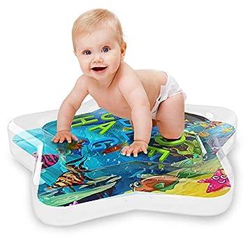 Amazon.com: YZ-Room - Alfombra de agua hinchable para bebé ...