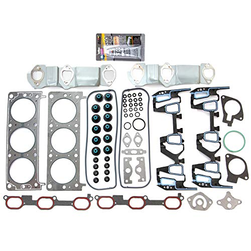 cciyu Head Gasket Kit Replacement fit for Century Buick Venture Chevrolet Lumina Alero Oldsmobile Aztek Pontiac HS9957PT-1 96-05 (1999 Pontiac Grand Am Head Gasket Replacement)