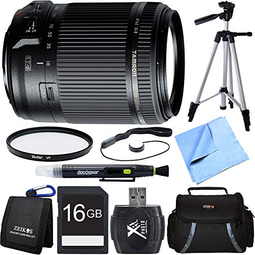 - Tamron 18-200mm Di II VC All-In-One Zoom Lens for Canon Mount includes Bonus Xit 60