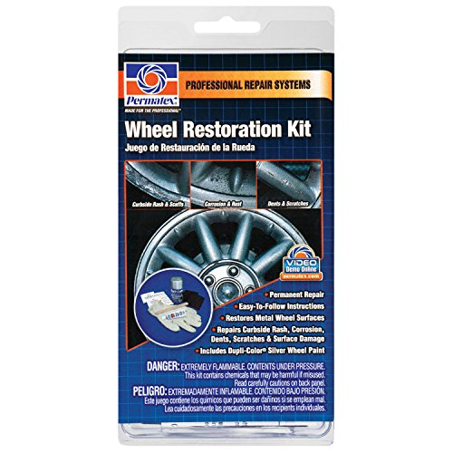 Permatex 09142 Wheel Restoration Kit (Wheel Aluminum Kit Repair)