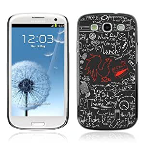 YOYOSHOP [Cool Cock Retro pattern] Samsung Galaxy S3 Case