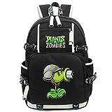 Siawasey Cute Plants Zombie Hot Game Bookbag Backpack Shoulder Bag School Bag