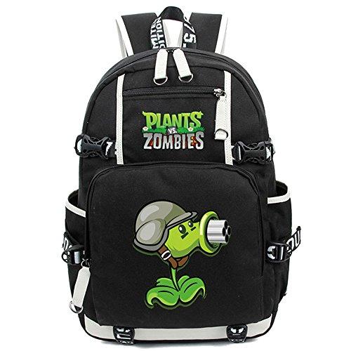 Siawasey Cute Plants Zombie Hot Game Bookbag Backpack Shoulder Bag School Bag]()
