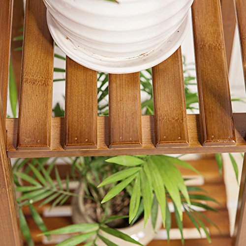 Indoor flower room wooden multilayer balcony showy-B by Flower racks (Image #3)