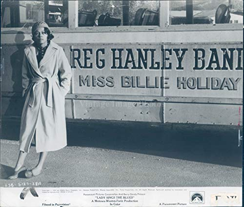 Vintage Photos 1972 Photo Diana Ross Celebrity Lady Sings Blues Billy Dee Williams Gordy 8x10 (Billy Dee Williams Lady Sings The Blues)