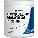 Nutricost L-Citrulline Powder (300 Grams) As L-Citrulline Malate (2:1)