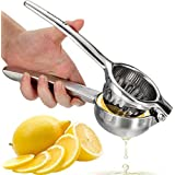 "Homdox Lemon Squeezer, Stainless Steel Lime Juicer Squeezer, Manual Press Citrus Juicer - Large (8.4"" Length & 3"" Diameter)"