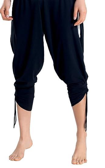 Gwinner Sporthose Damen Capri, 3/4 Hose perfect für Jogging, Fitness und  Outdoor