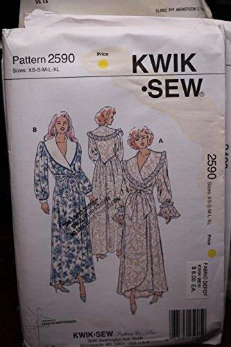 Amazon.com   Kwik Sew Pattern 2590 Sz XS-XL Misses  Robes UNCUT FF   Everything  Else 3453f9b3a
