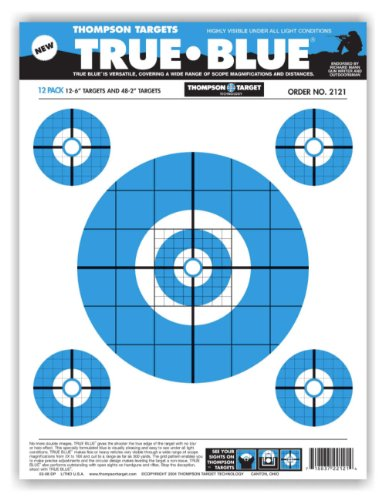 True Blue Paper Shooting Targets