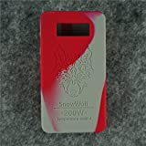 Case for SnowWolf Snow Wolf 200w Mod Silicone Skin Sleeve Skin Wrap Cover Sticker (red/grey)