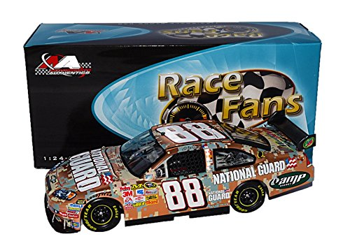 AUTOGRAPHED 2008 Dale Earnhardt Jr. #88 National Guard Racing DIGITAL CAMO (Race Fans Only) COPPER FINISH Signed Action 1/24 NASCAR Diecast Car with COA (#175 of only 488 produced!)