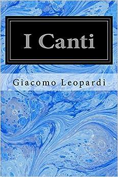 Book I Canti (Italian Edition)