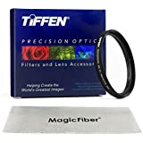 TIFFEN 86MM UV Protection Filter for SIGMA 150-500mm f/5-6.3 and TAMRON 200-500mm f/5.0-6.3 Lenses + MagicFiber Microfiber Lens Cleaning Cloth