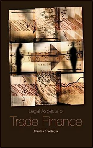 Book Legal Aspects of Trade Finance
