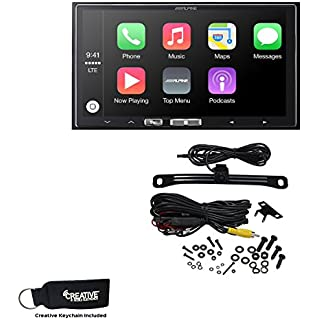 Sale Off Alpine iLX-107 7 Inch Mech-Less Receiver Compatible with Wireless Apple CarPlay & Backup Camera