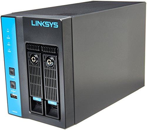 Linksys LNR0208C Video Grabadora de Red 2-Bay, gris (Video Grabadora)