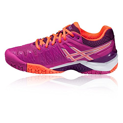Resolution Tennisschuhe Damen 6 Violett Asics Purple W Gel qvEwqC1