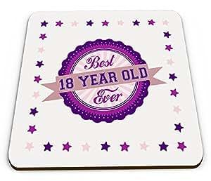 Mejor 18 años nunca flashsellerz taza montaña vieja brillante - rosa/púrpura