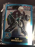 2001-02 Topps Chrome Anaheim Mighty Ducks Team Set 5 Cards Ilya Bryzgalov RC