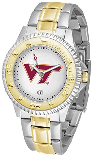 (Virginia Tech Hokies Competitor Two-Tone Men's Watch)