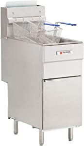 Grindmaster FMS403NAT Gas Fryer (Floor Model)
