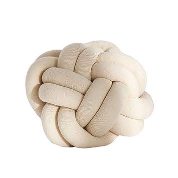 Amazon.com: Cozzy - Cojín ovalado hecho a mano para cama ...