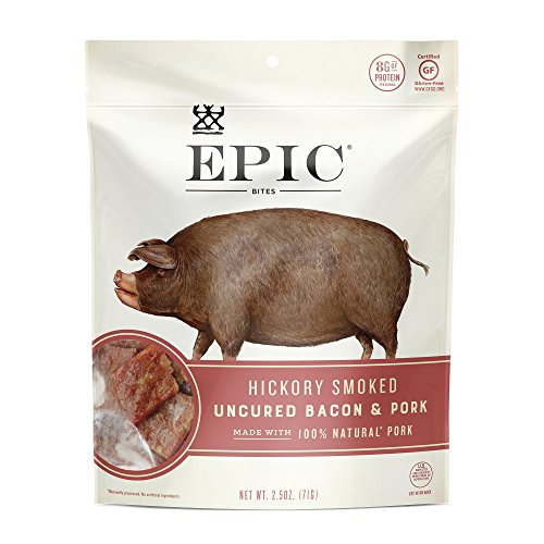 Epic Provisions, Uncured Bacon Bites, 2.5 Ounce