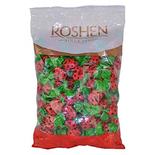 Roshen Ladybug Jelly Candies 1kg (Raspberry Ladybug)