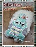 Crochet Pattern - CP327 - Baby Owl Sleeping Bag - USA Terminology
