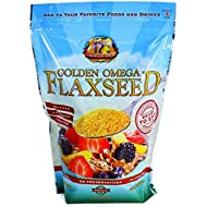 Premium Gold Flax Products Inc. True Cold Milled Pre-Ground Flaxseed, 24 oz.
