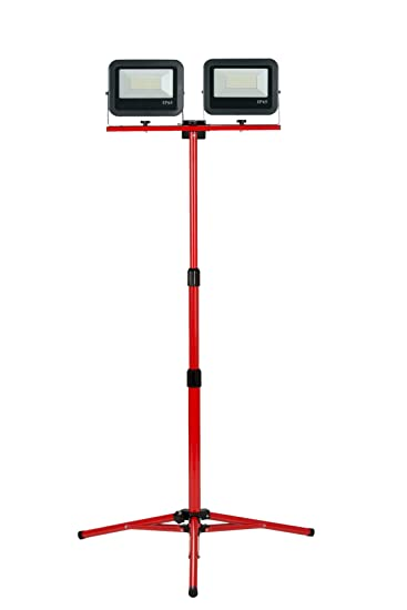 Proyector de trípode telescópico LED 2 x 50 W – 3M de Cable H07RNF ...