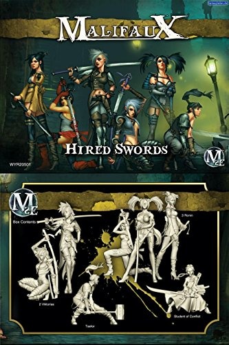 Wyrd Miniatures 20501 Outcasts Viktorias Crew Box Set