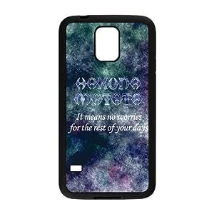 Nymeria 19 Customized Hakuna Matata Diy Design For Samsung Galaxy S5 Hard Back Cover Case DE-403