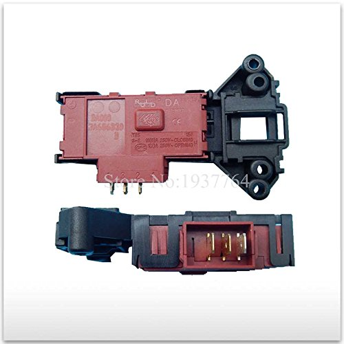 MONNY 1pcs Haier washing machine parts time delay switch door XQG52-HDY1200A/XQG50-600A/XQG50-31BT door lock