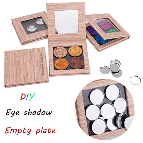 Hometom Eye Shadow Empty Plate, Empty Magnetic Makeup Palett